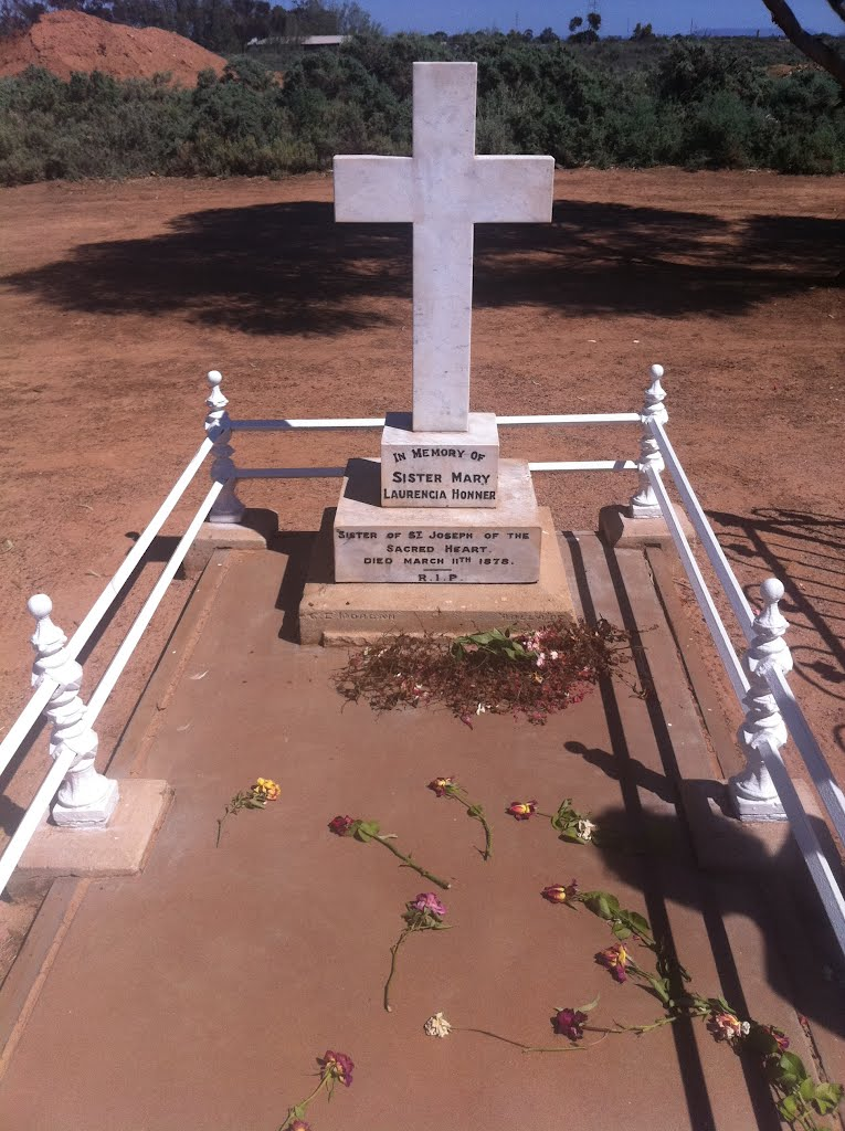 Grave of Sister Mary Laurencia Honner Stirling North SA