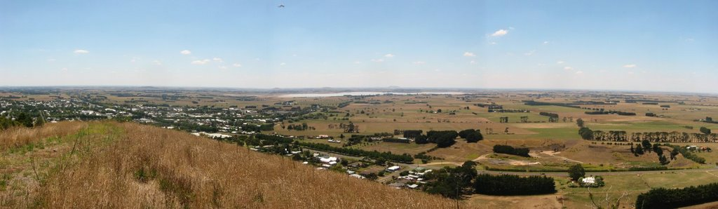 Looking North-West from Mount Leura, Camperdown, Victoria