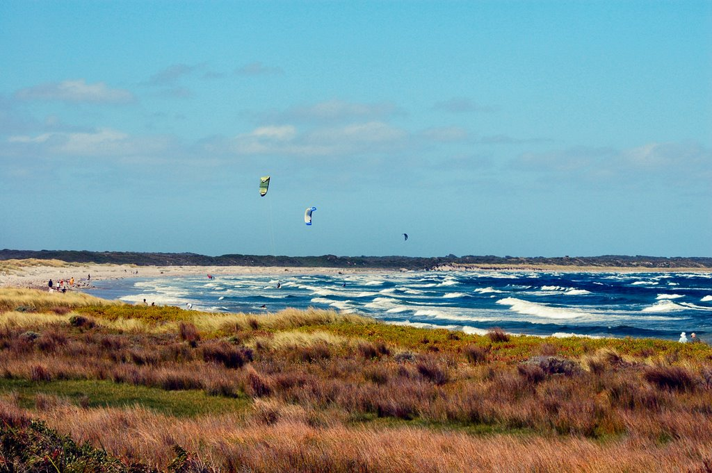 Windsurfing in Flinders Bay, Augusta