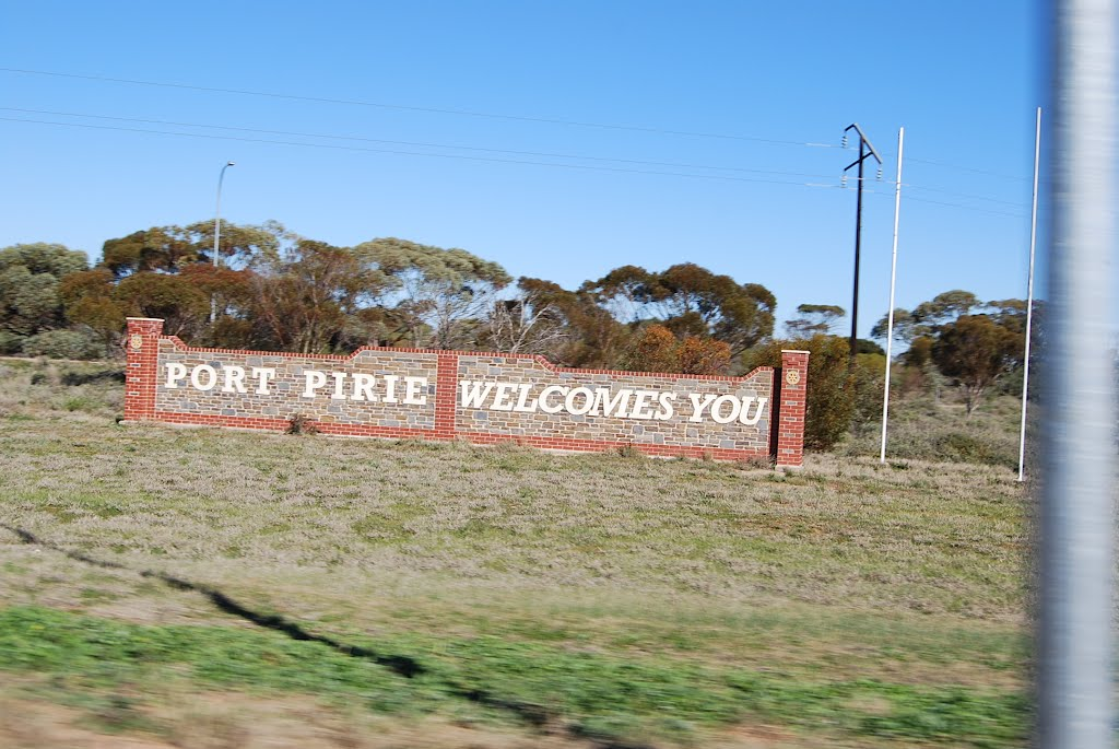 """Port Pirie Welcomes You"""