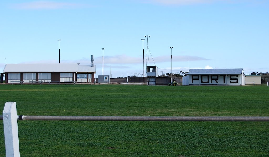 Ports Clubhouse, sheds and oval