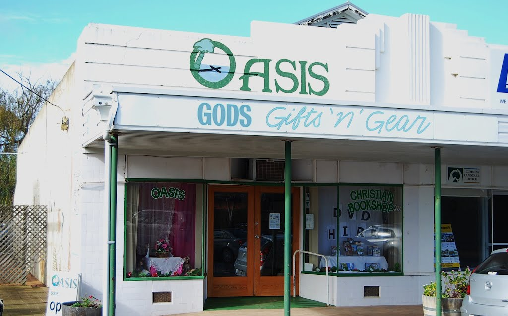 Oasis: Christian retail outlet