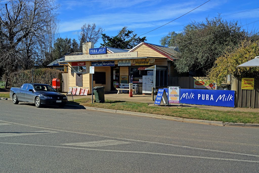Avenel Newsagency and Mixed Business (2012) - established on this site in the late 1940s
