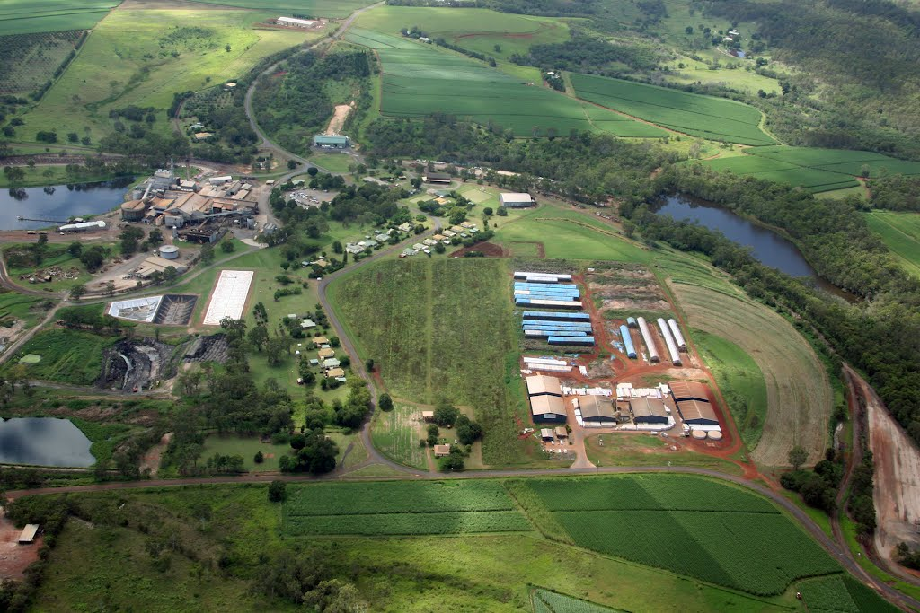 Isis Central Sugar Mill & Mulch Baling Plant, Cordalba, Queensland