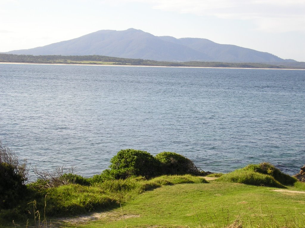 Mt Dromedary from Bermagui