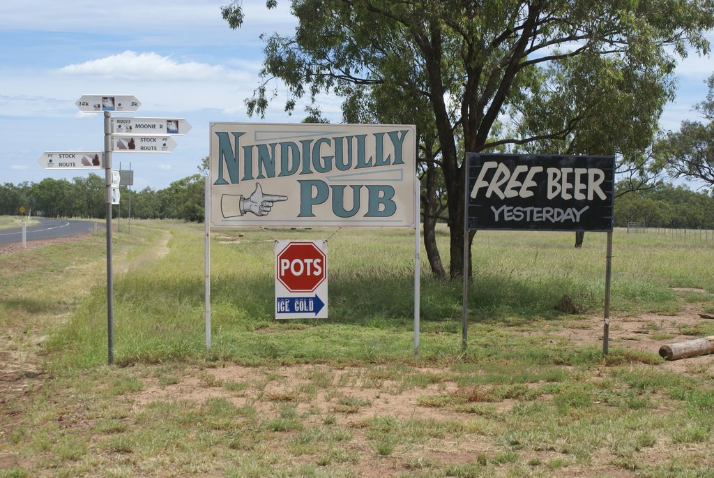 Invitation to the Nindigully Pub