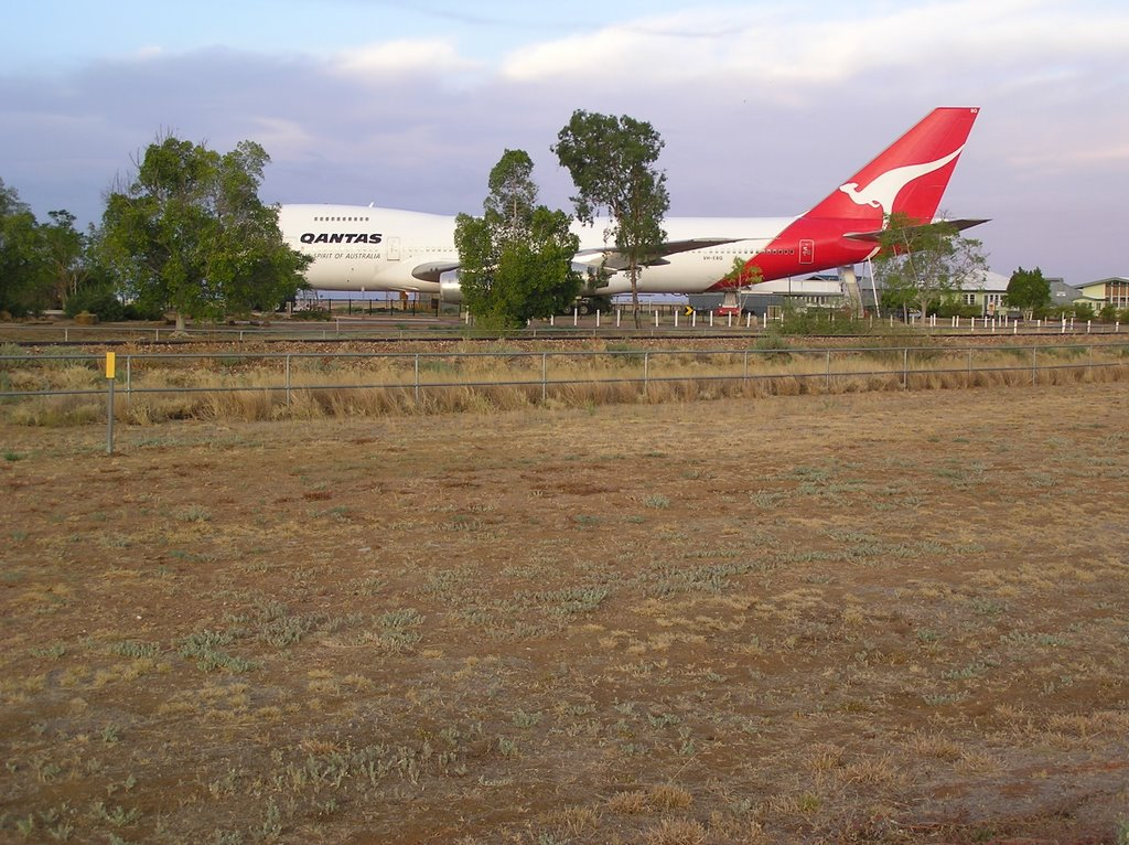 Jumbo in the Outback, Qantas Museum, Longreach