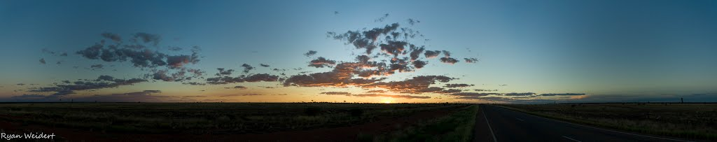 Outside Camooweal - Panorama