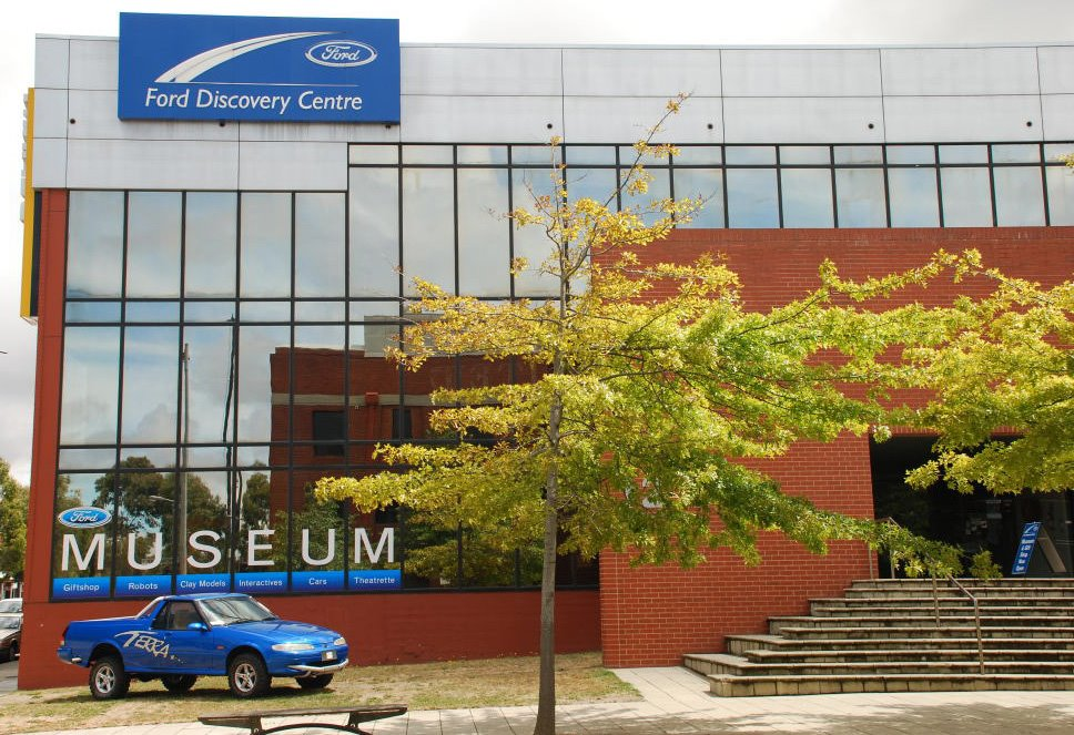 Ford Discovery centre, Geelong.