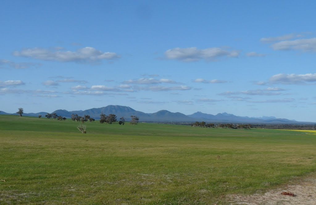 The Stirling Ranges from Kendenup