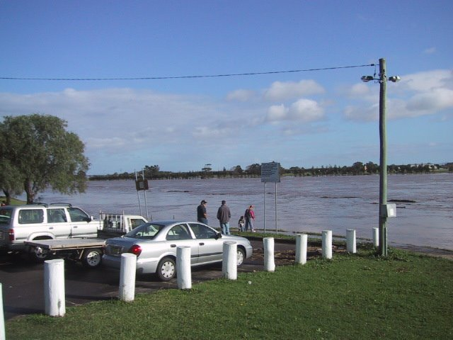 Flooding at Raymond Terrace,NSW