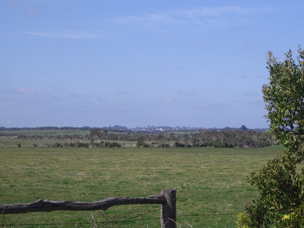 Wonthaggi in the Distance