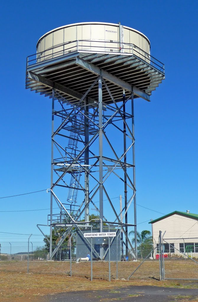 Water Tower at Gravesend NSW