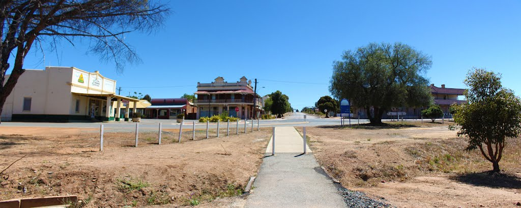 Pingelly Town Panorama, Western Australia