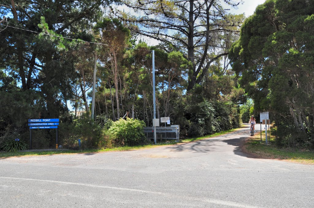 Entrance to Redbill Point Conservation Area, Beauty Point