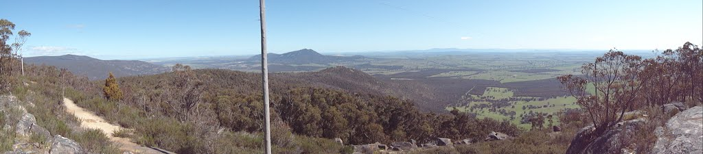 View from Mount Cole