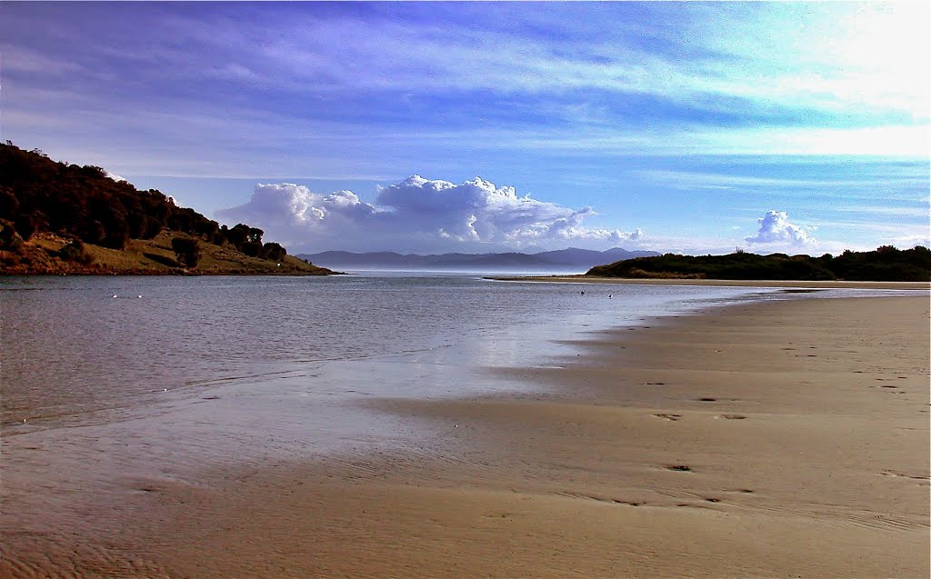 Carlton River Mouth, Carlton Beach, Tasmania, Australia