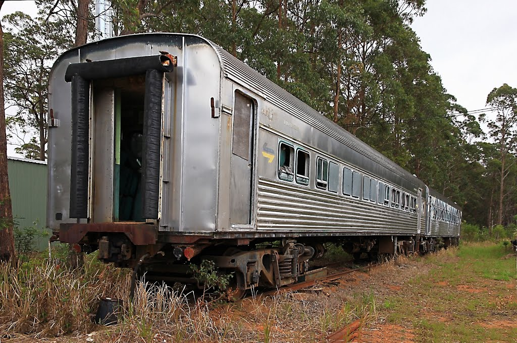 Awaiting Restoration. Glenreagh Mountain Railway. NSW