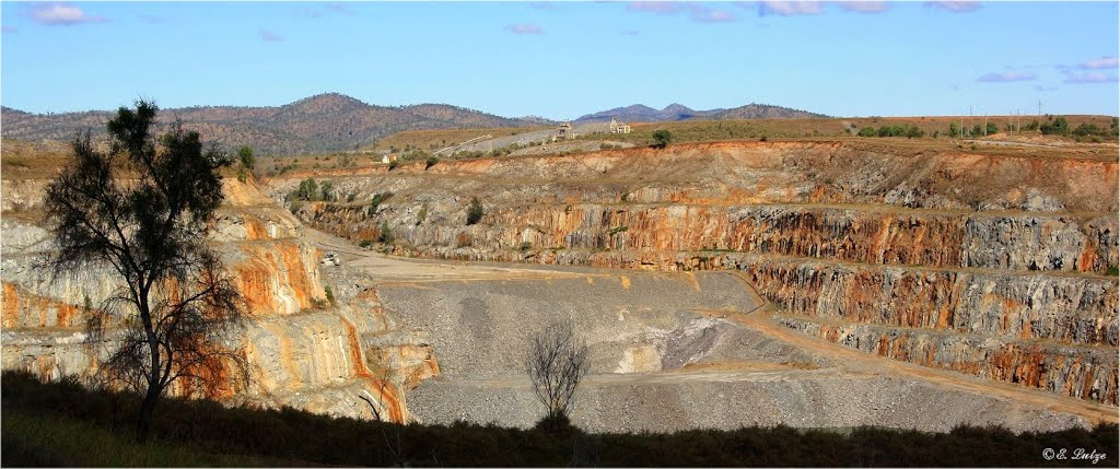 Goldmine at Ravenswood Qld.