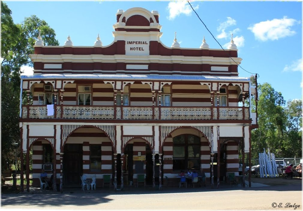 The Imperial Hotel in Ravenswood Qld.