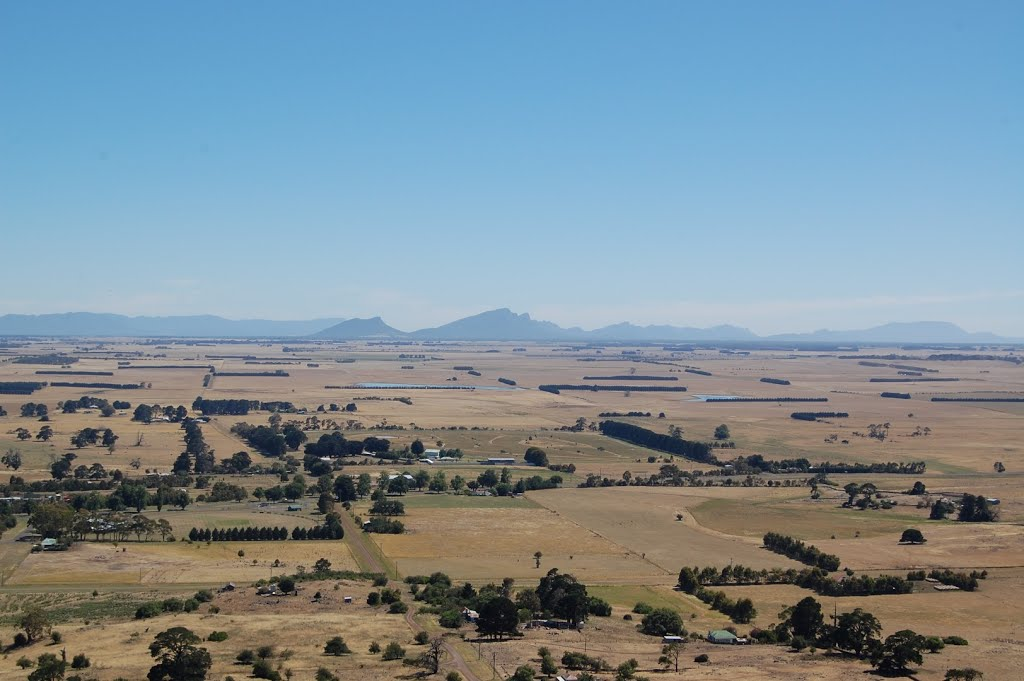Penshurst VIC, from Mount Rouse