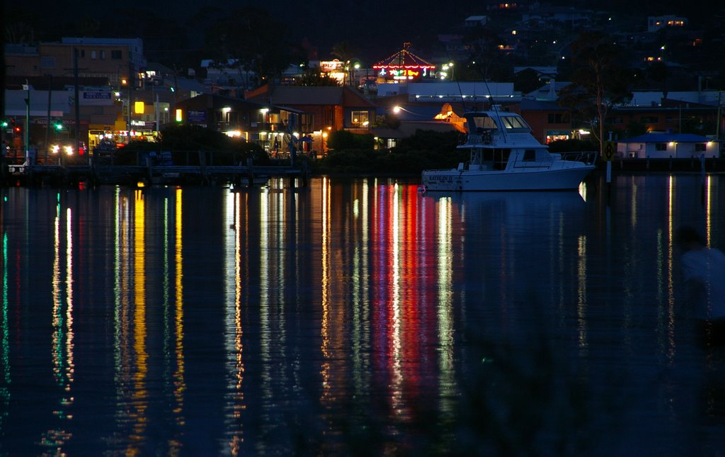 Merimbula at night