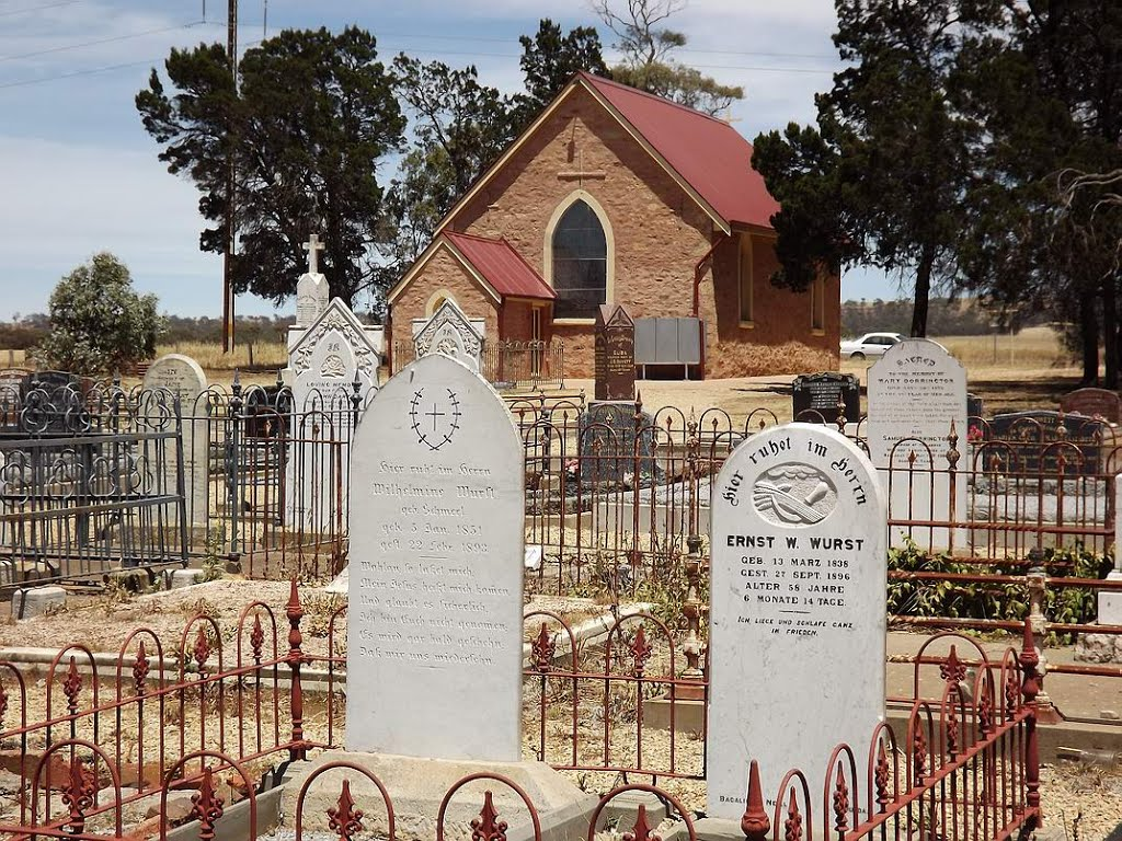 St Philips Anglican Church cemetery, Belvidere
