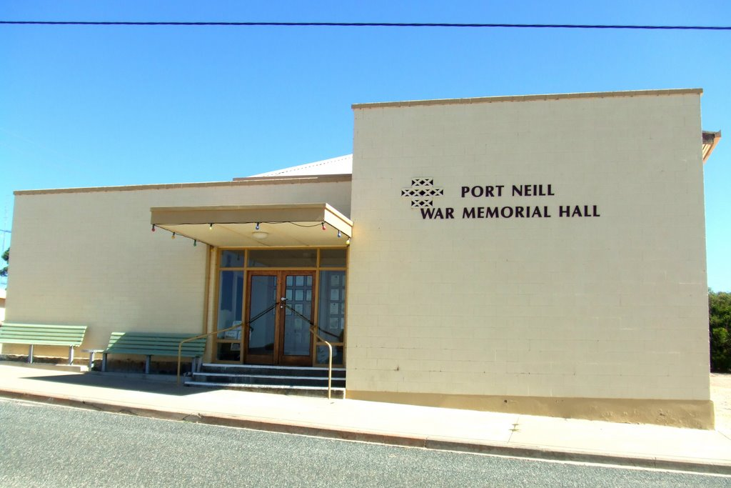 War Memorial Hall - Port Neill, South Australia
