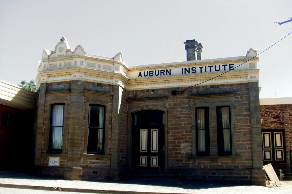 Institute Building - Auburn, South Australia