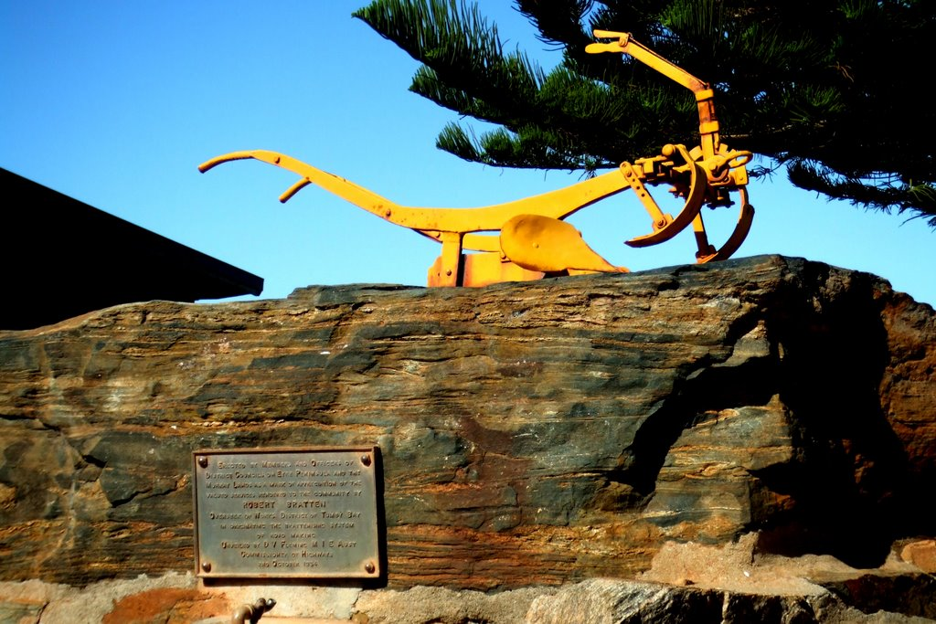 Plough Memorial - Tumby Bay, South Australia
