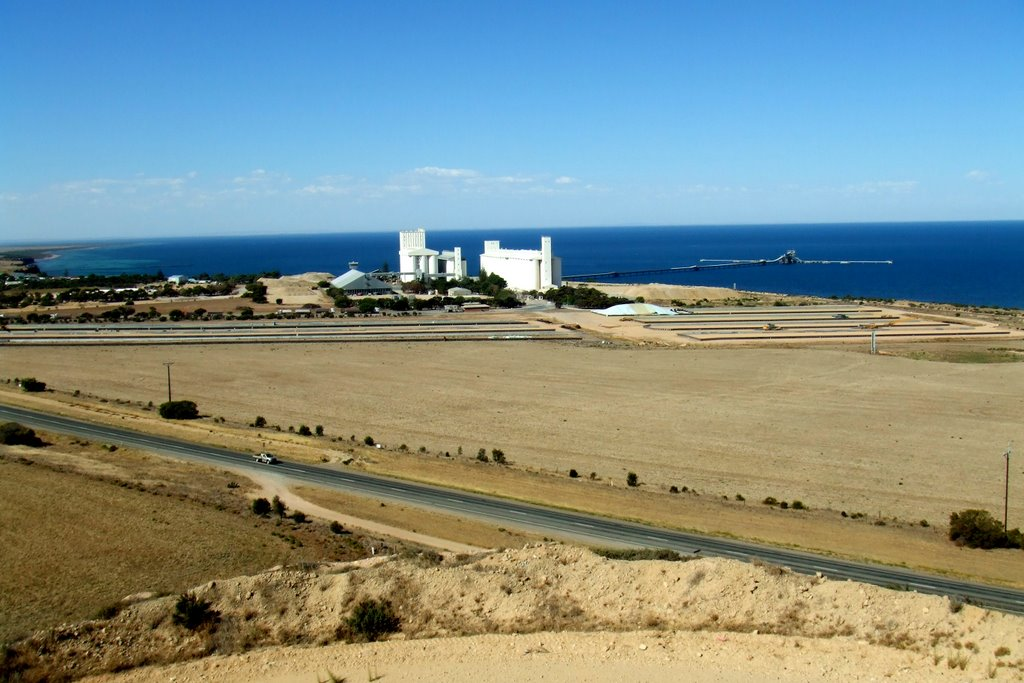 Ardrossan, South Australia - from Mine lookout