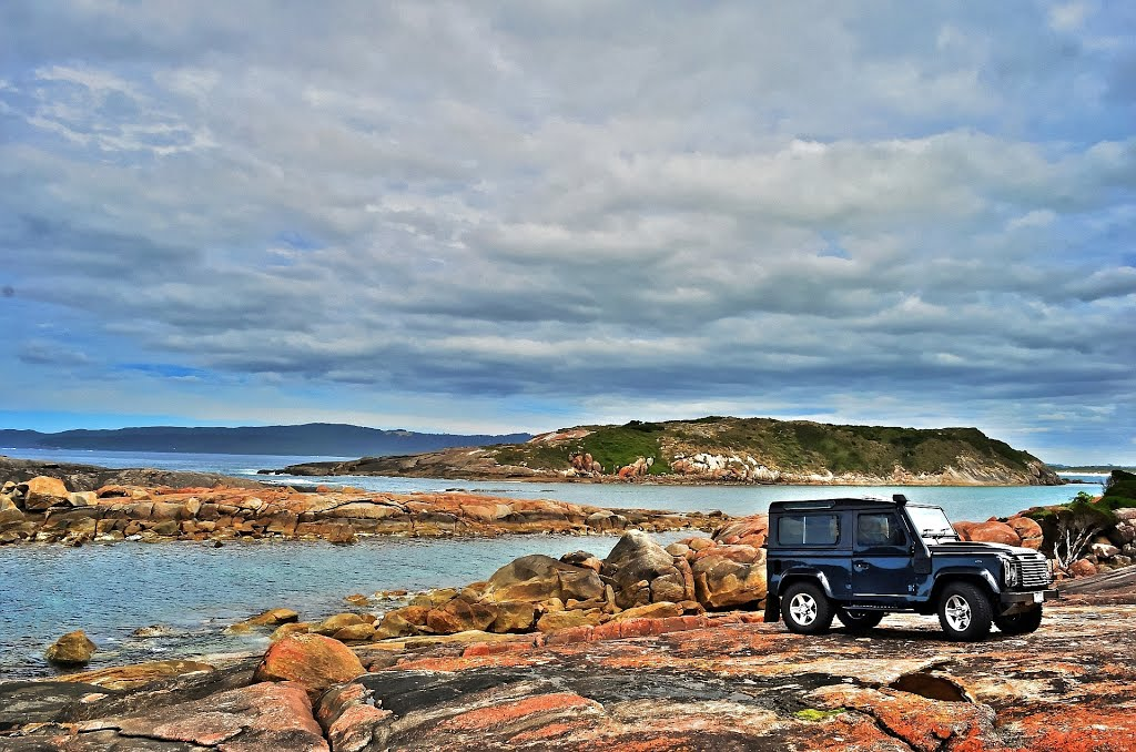 Muttonbird Island by Land Rover...