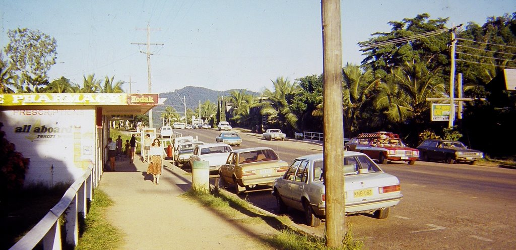 Australia - Queensland - Whitsundays - Airlie Beach - ... at the good old times - 1979
