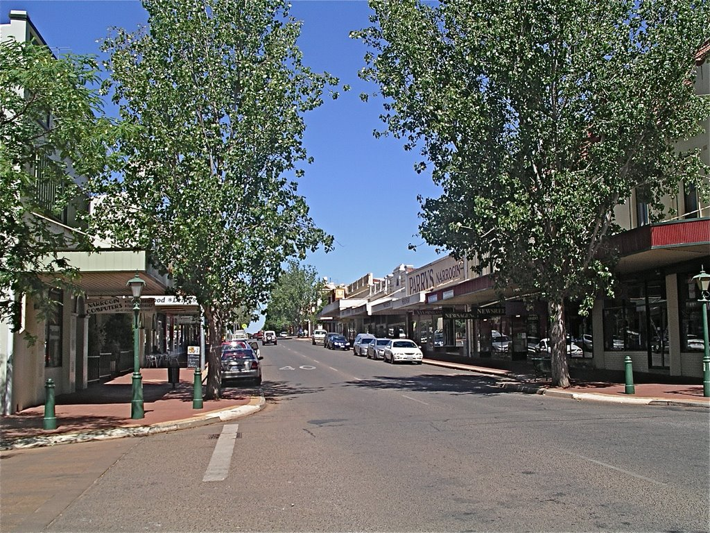 Narrogin - Federal Street looking south