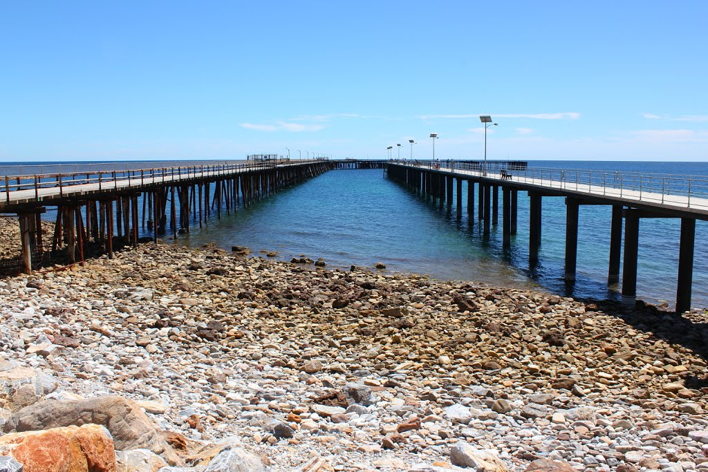 Rapid Bay - New and Old Jetties