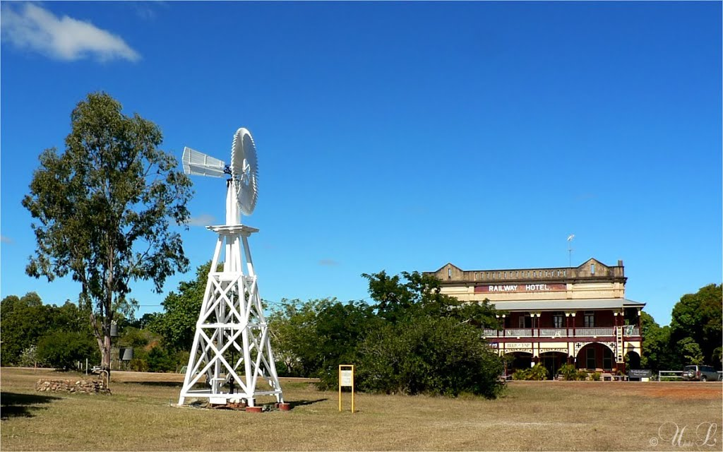 historic Ravenswood, Queensland
