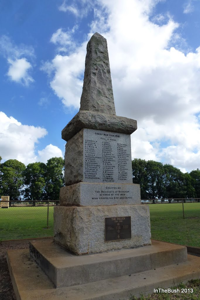 Boyanup War Memorial