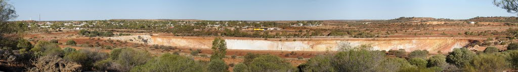 goldmine, seen from the lookout