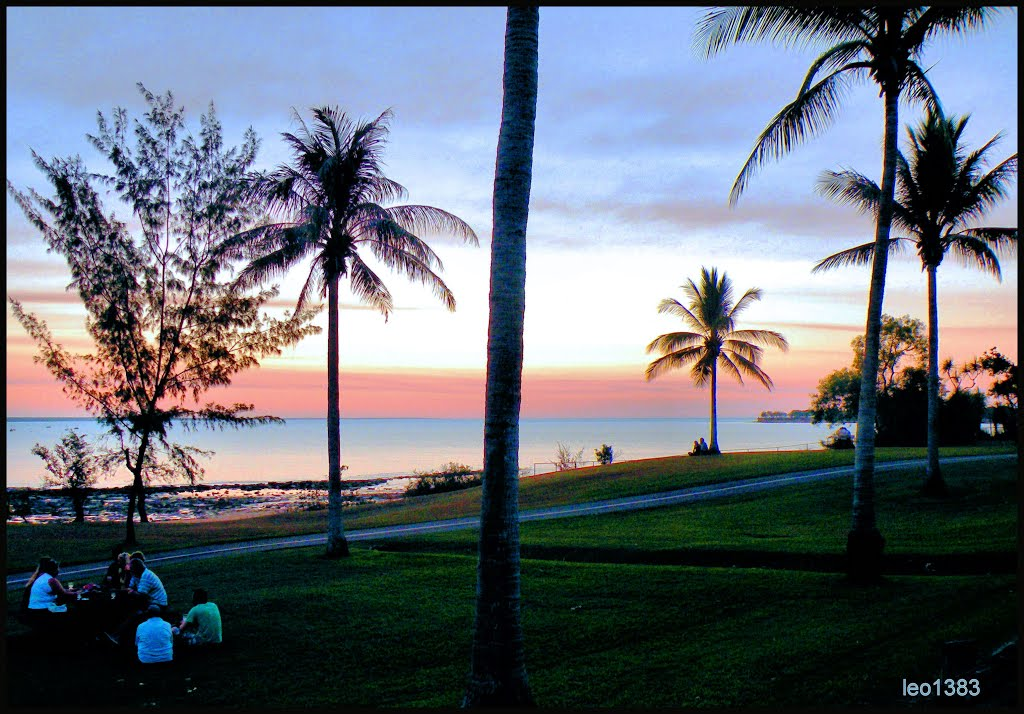 After a day at Fannie  Bay in Darwin..© by leo1383