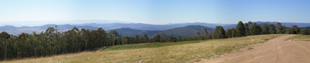 Lookout at Corryong