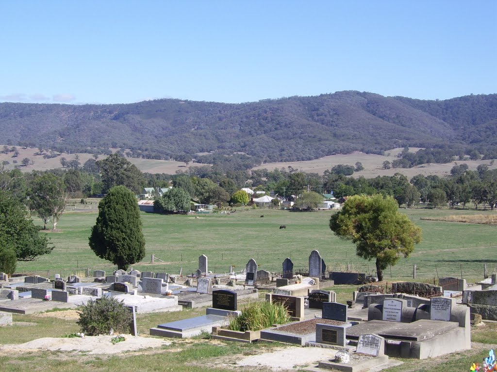 View of Yarck Township From Yarck Cemetary
