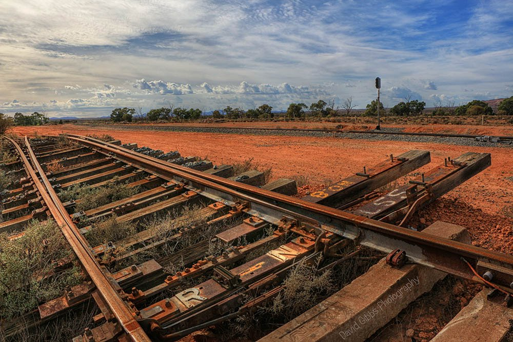 Railway sideing by David Gibbs