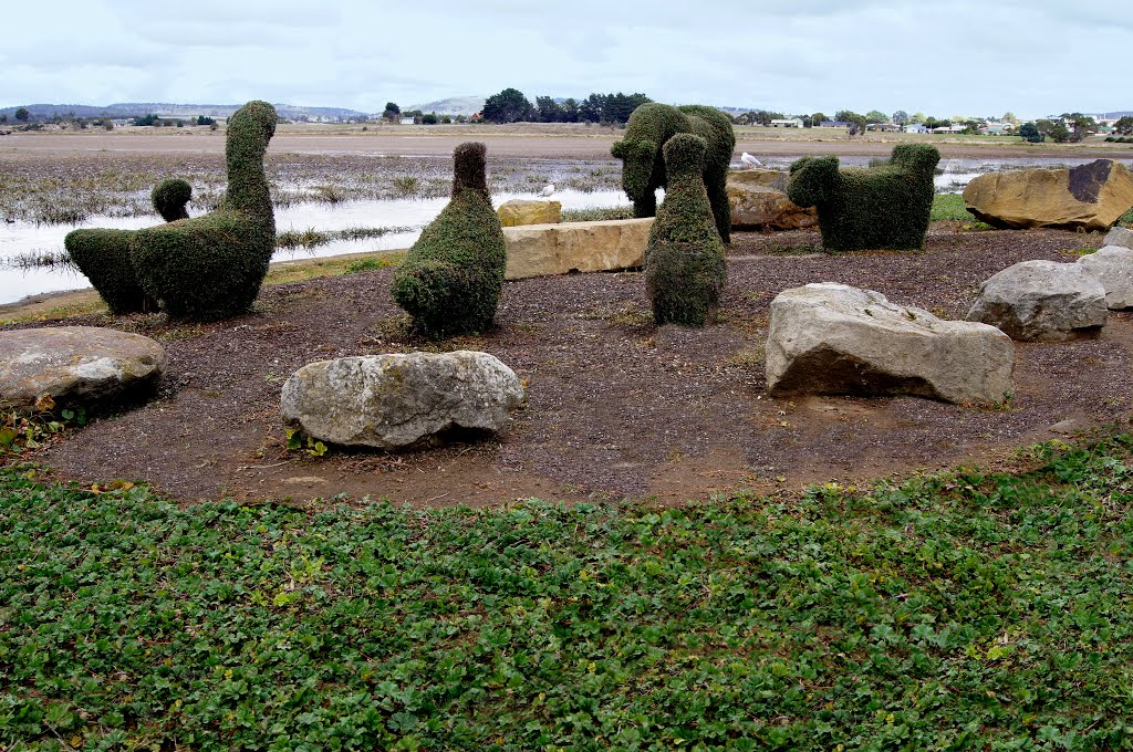 Topiary on show in Oatlands