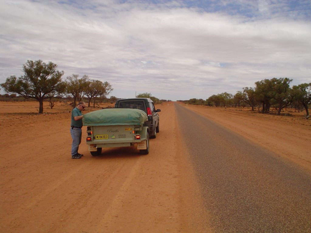 Road Hungerford-Eulo