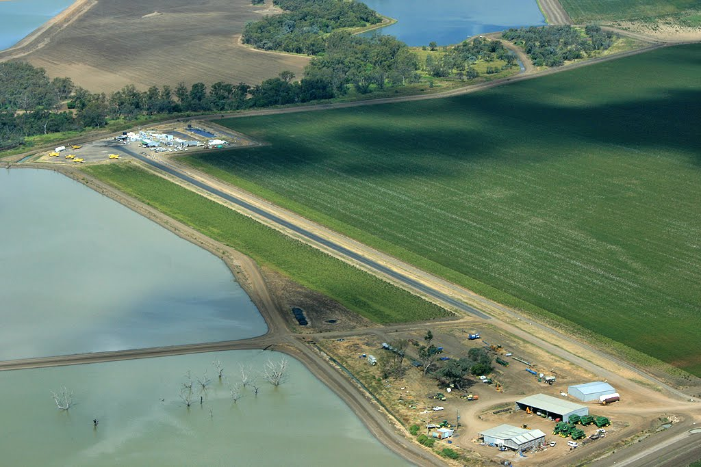 Crop Duster airfield Moree
