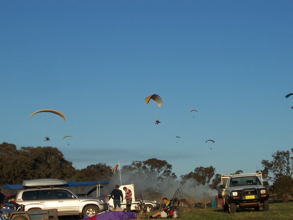 Pico fly-in, Powered Paragliding