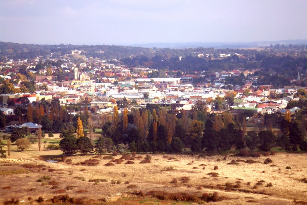 Goulburn, NSW - from war memorial lookout