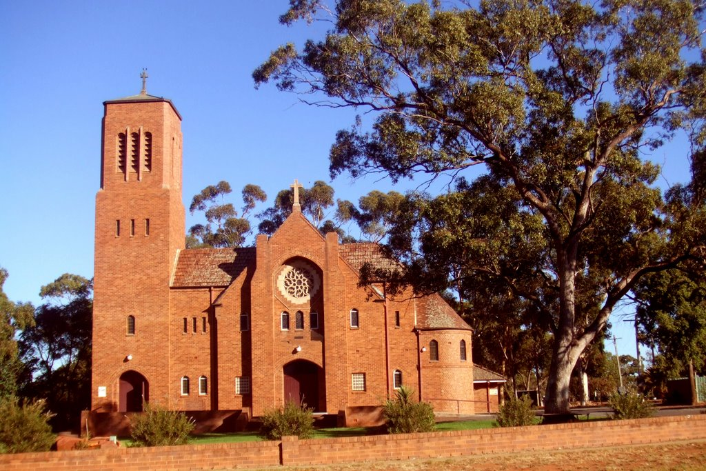St Albans Anglican Church - Griffith, NSW