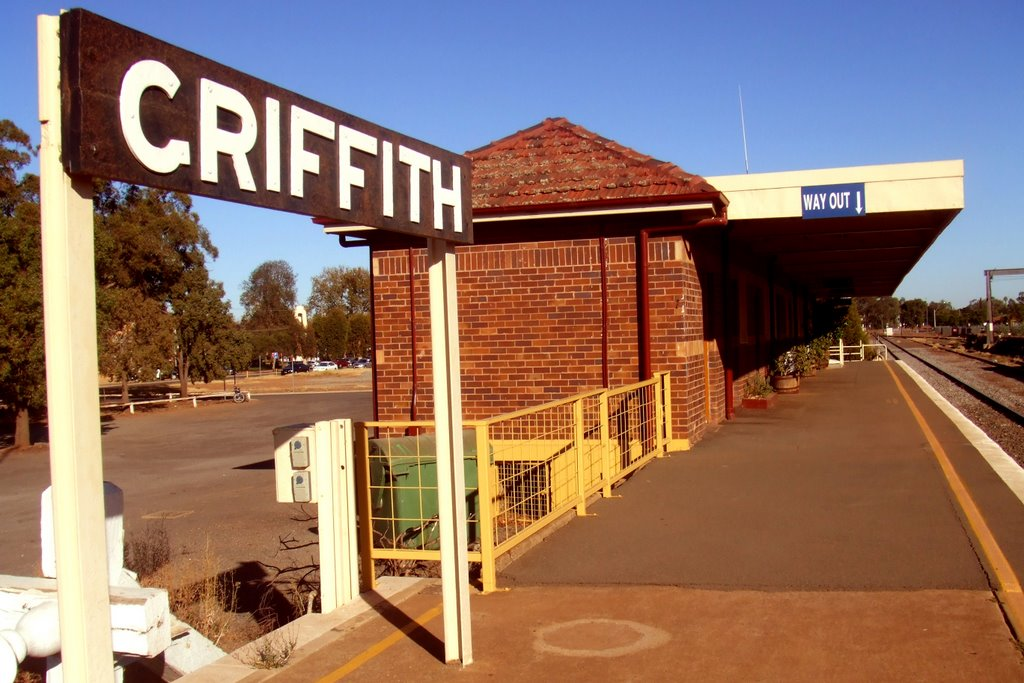 Rail Station - Griffith, NSW