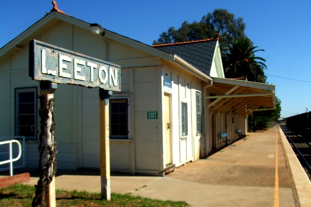 Railway Station - Leeton, NSW